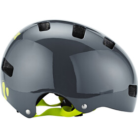 UVEX Kid 3 Helmet dirtbike gray-lime